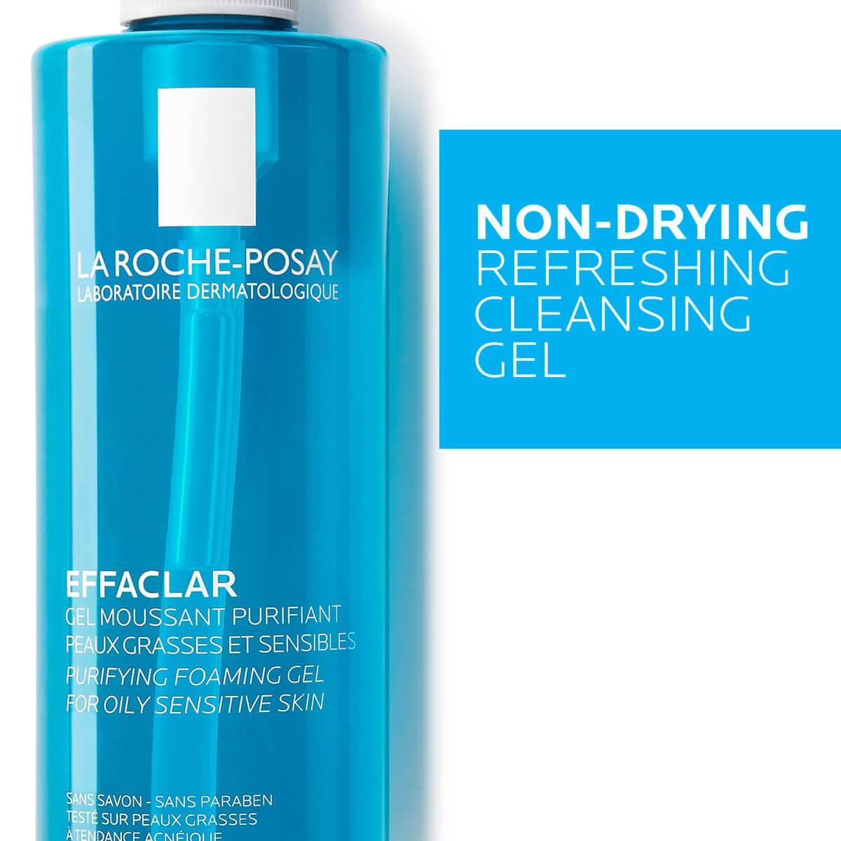 La Roche Posay ProductPage Acne Effaclar Cleansing Foaming Gel 400ml 3