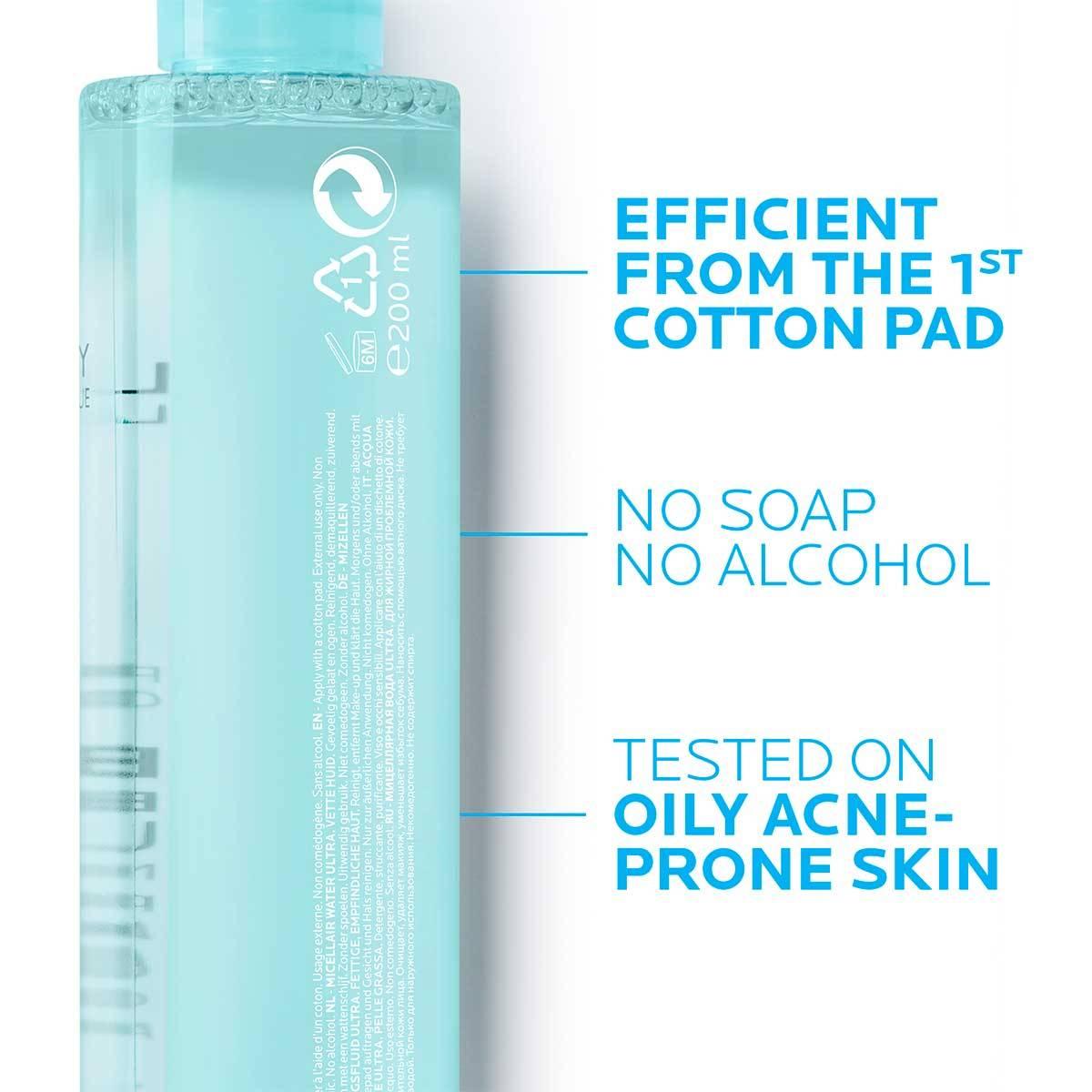 La Roche Posay ProductPage Acne Effaclar Micellar Water Ultra 200ml 34