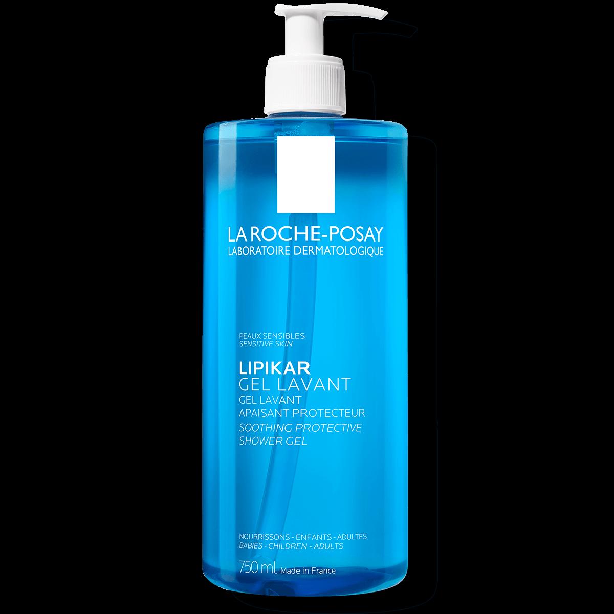 La Roche Posay ProductPage Eczema Lipikar Gel Lavant 750ml 3337872418815 Front