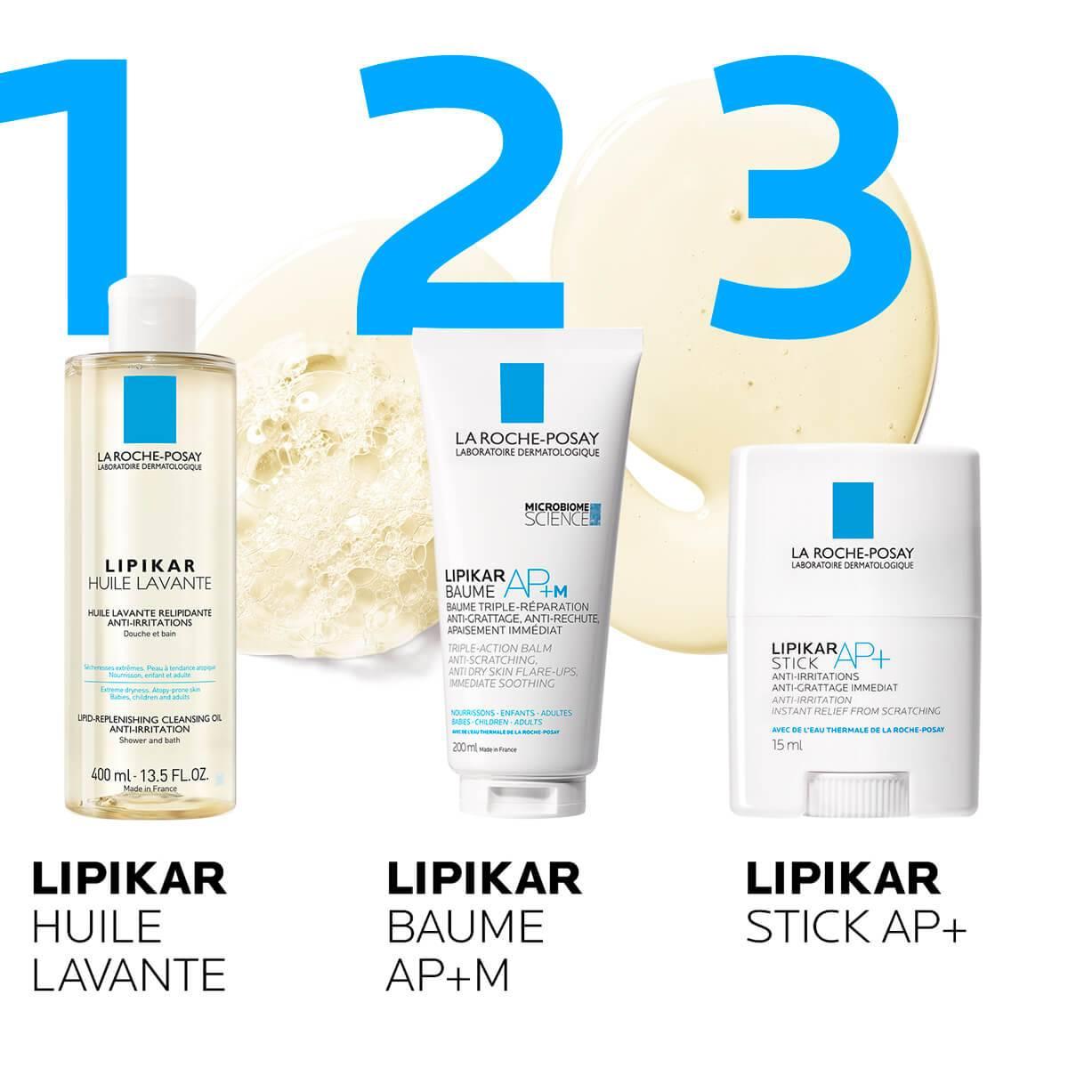 LaRochePosay-Product-Eczema-Lipikar-HuileLavante-400ml-3337872413049-Routine