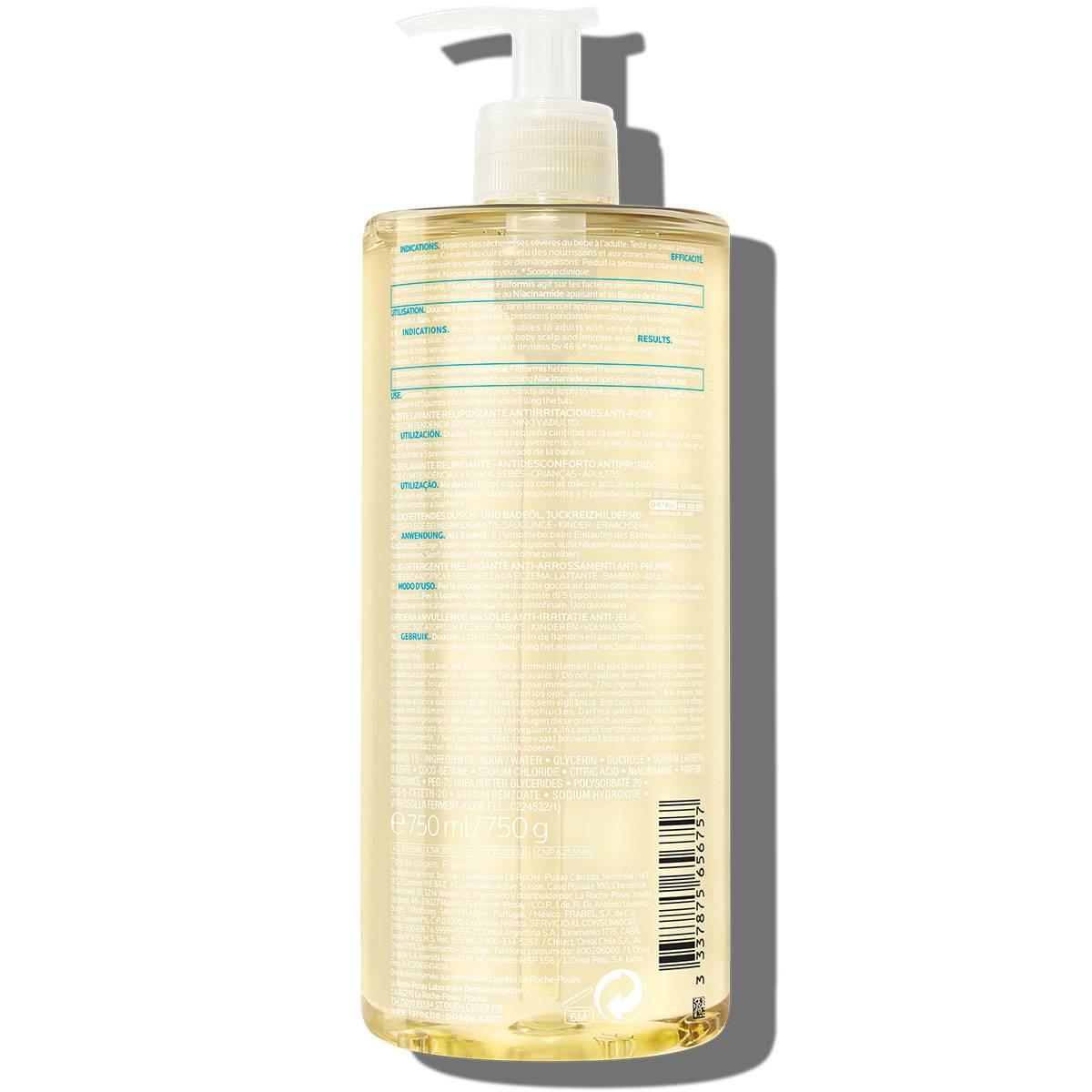 Larocheposay ProductPage Eczema Lipikar Cleansing Oil AP 750ml 3337875