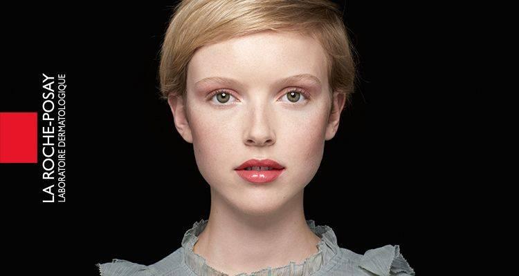 La Roche Posay Sensitive Toleriane Make up Ivory Audrey After