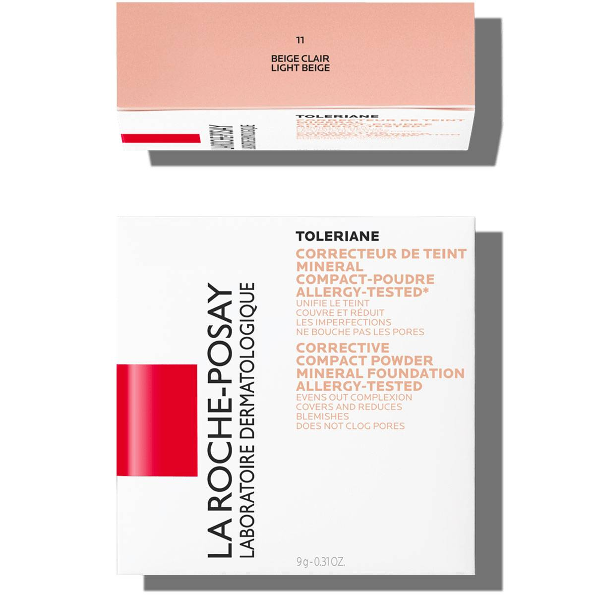 La Roche Posay Sensitive Toleriane Make up COMPACT POWDER 11LightBeige